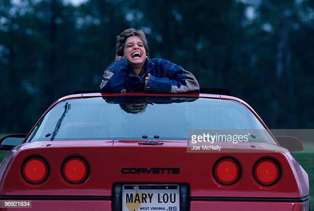 Mary Lou Retton's success has brought her a new set of wheels This 16 year old has a calendar that reads Macy's Thanksginving Day Parade Bob Hope...