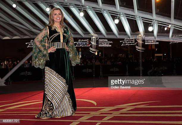 Fairouz attends the 'Sara' premiere at the 13th Marrakech International Film Festival on December 3 2013 in Marrakech Morocco