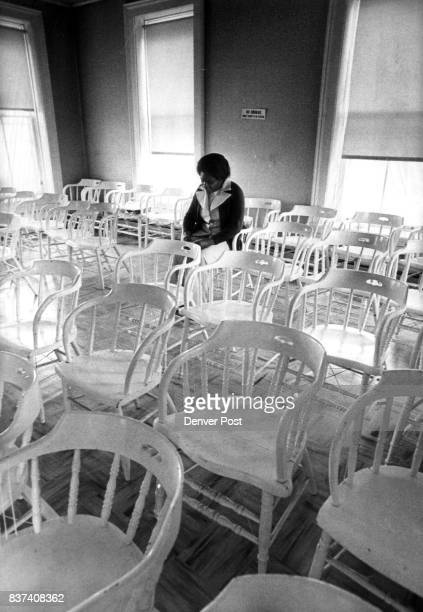 Fairplay Mayor ADA Evans Sits Alone In The 100YearOld Courthouse She contemplates plans for the future of her city which include bringing in light...