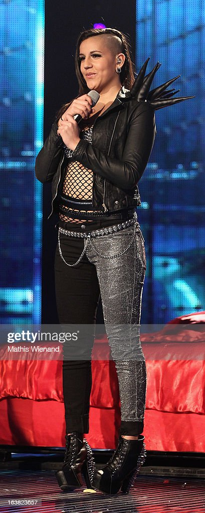 Fairuz Fussi attends the Rehearsal of 1st DSDS Show at Coloneum on March 16, 2013 in Cologne, Germany.