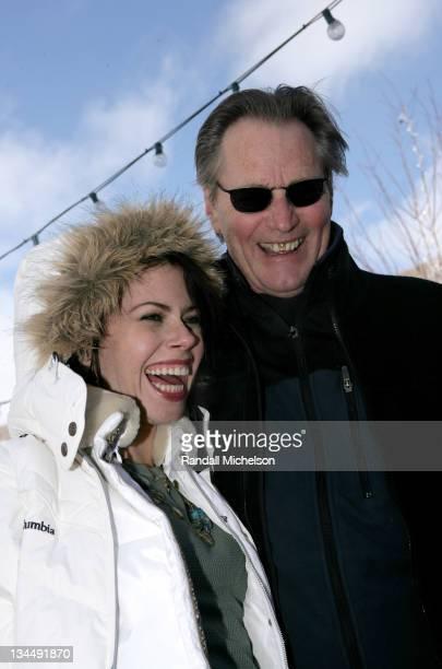 Fairuza Balk and Sam Shepard during 2006 Sundance Film Festival 'Don't Come Knocking' Outdoor Portraits in Park City Utah United States