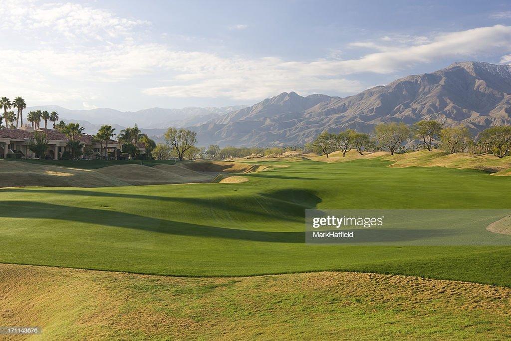 Fairway On Golf Course At La Quinta California