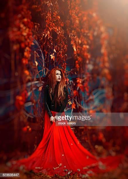 fairy autumn queen