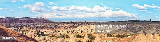 Fairy Chimneys In Rose Valley; Cappadocia, Turkey - 15000px
