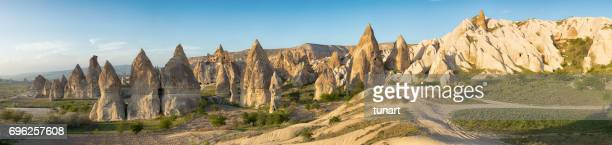Fairy schoorstenen van Cappadocië