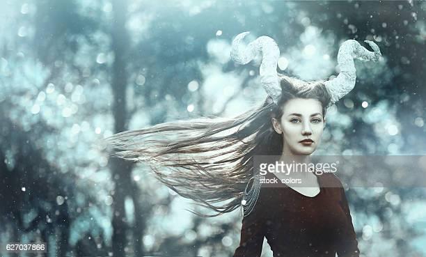 fairy demon with horns