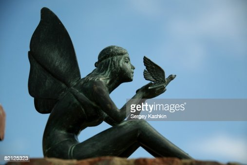 Fairy Figurine Garden Accent Stock Photo Getty Images
