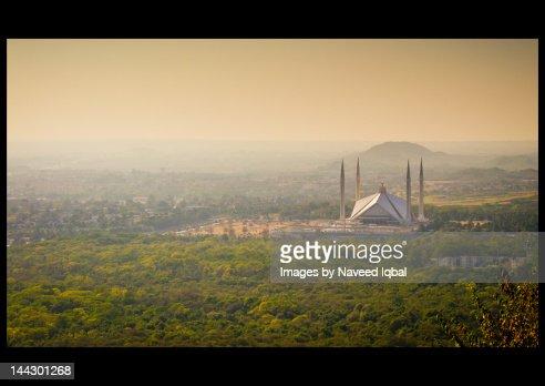 Faisal Mosque in Islamabad