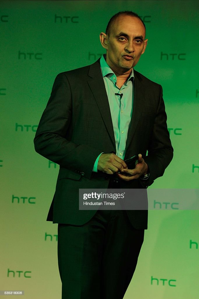 Faisal Siddiqui, President, HTC South Asia during the launch of global flagship smartphone, HTC 10 at Taj Mahal Hotel, on May 26, 2016 in New Delhi, India. Faisal Siddiqui said, 'India is one of the fastest growing Smartphone markets globally and the customers are technology savvy. We are pleased to launch our all-new range of smartphones in the HTC One and Desire categories. Our new range focuses on providing distinctive features with an outstanding user experience along with the freedom to personalise their smartphones. Each smartphone has a unique customer value proposition and is targeted at a specific audience. We strongly believe our flagship HTC 10, the HTC One X9, and our youthful Desire smartphones will capture the mindshare of our consumers.'