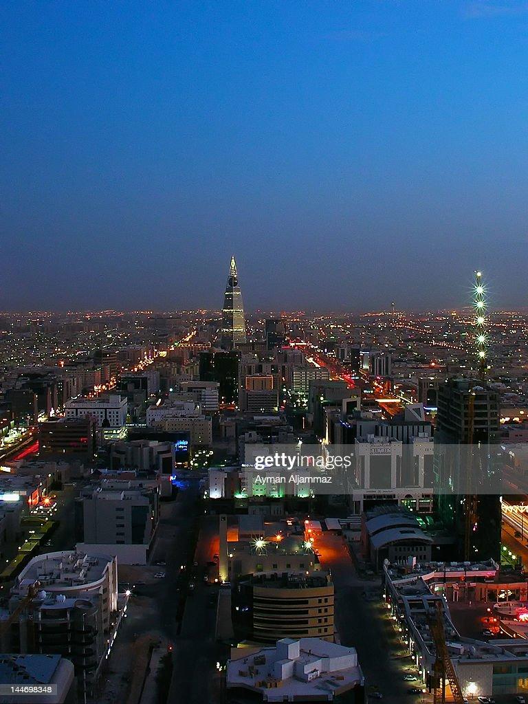 Faisalia Tower at night