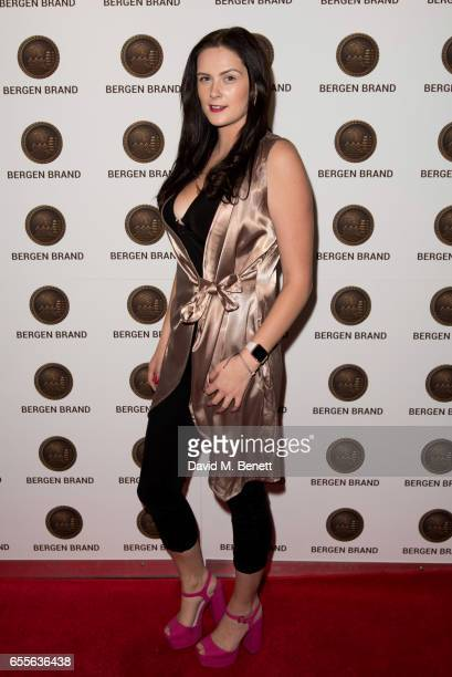 Faith Elizabeth attends the Bergen Brand Handbag launch at Wolf Badger on March 16 2017 in London England