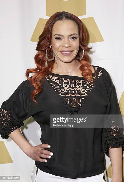 Faith Evans attends Los Angeles Nominee Brunch Celebration at The Theater at The Ace Hotel on January 30 2016 in Los Angeles California