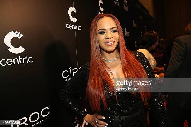 Faith Evans attends the 2015 WEEN Awards at The Schomburg Center for Research in Black Culture on November 18 in New York City