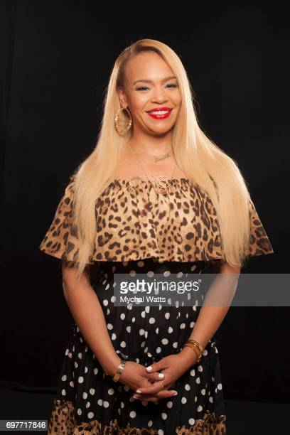 Faith Evans Poses for a Portrait on Day 3 of the American Black Film Festival on June 14 2017 in Miami Florida