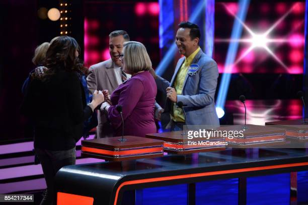 FEUD 'Faith Evans vs Ross Mathews and USA Gymnastics vs USA Swimming' The celebrity teams competing to win cash for their charities feature the...