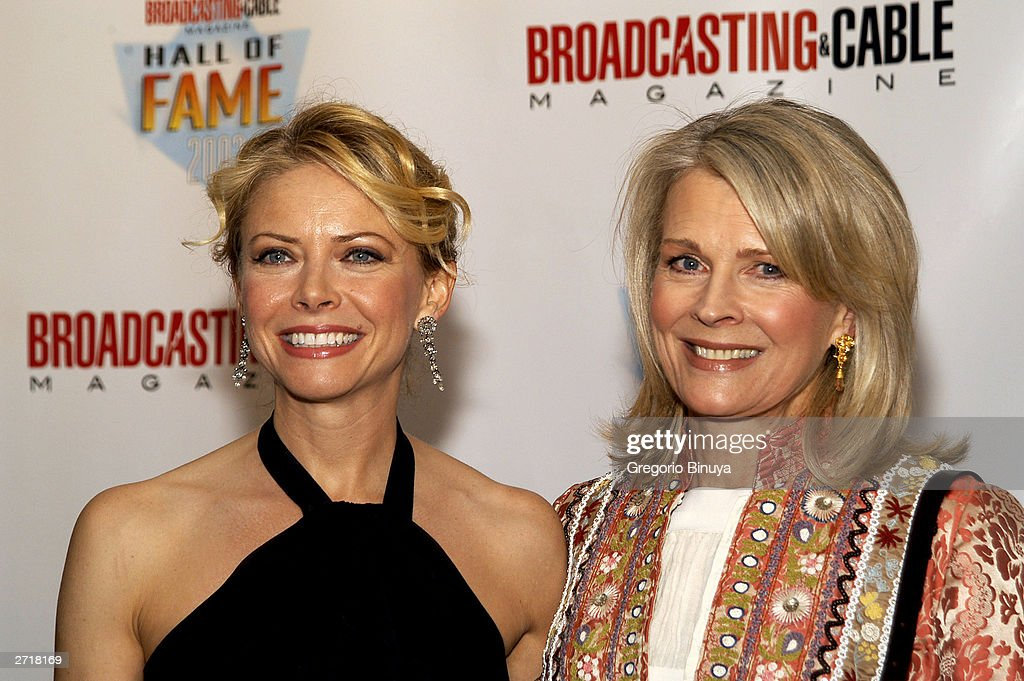 Faith Ford and Candice Bergen attend the 13th Annual Broadcasting & Cable Magazine Hall of Fame November 10, 2003, in New York. Bergen is a new inductee at the gala.