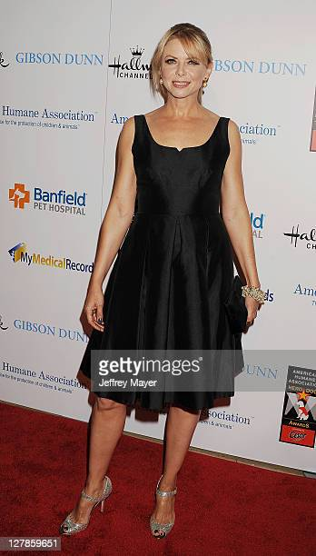 Faith Ford arrives at The American Humane Association's First Annual Hero Dog Awards at The Beverly Hilton hotel on October 1 2011 in Beverly Hills...