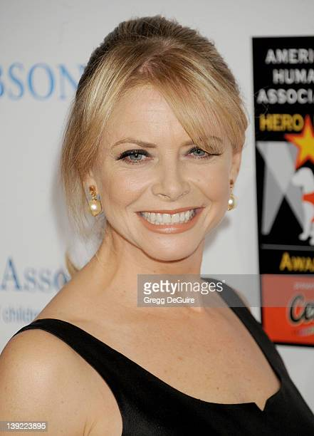 Faith Ford arrives at the inaugural 'American Humane Association Hero Dog Awards' at the Beverly Hilton Hotel on October 1 2011 in Beverly Hills...