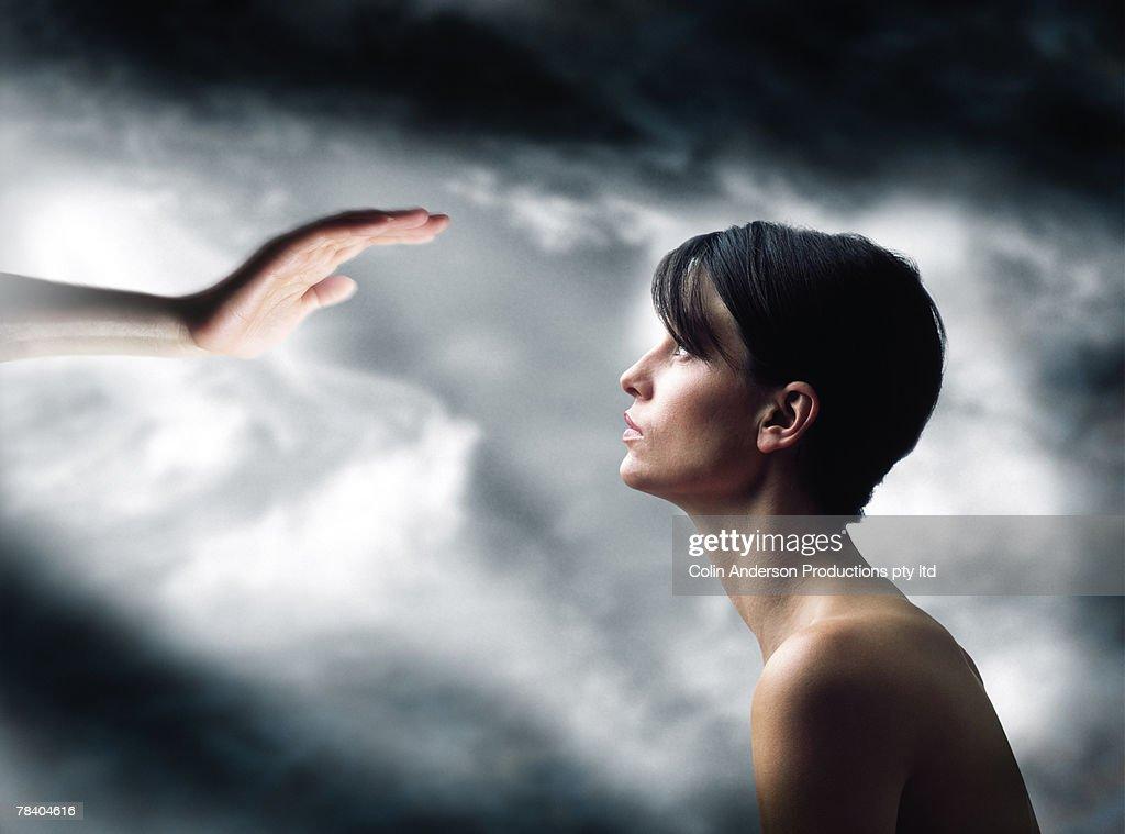 Faith healing : Stock Photo