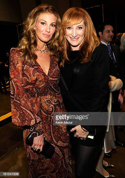 Faith Hill and Patti Scialfa attend MusiCares Person Of The Year Honoring Bruce Springsteen at Los Angeles Convention Center on February 8 2013 in...