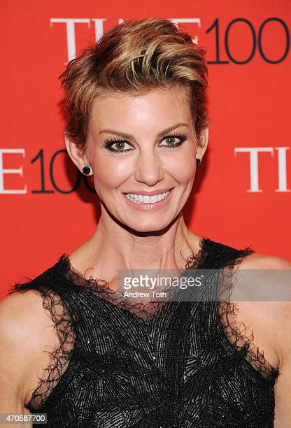 Faith Hill attends the 2015 Time 100 Gala at Frederick P Rose Hall Jazz at Lincoln Center on April 21 2015 in New York City