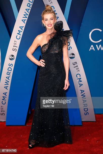 Faith Hill attends the 51st annual CMA Awards at the Bridgestone Arena on November 8 2017 in Nashville Tennessee