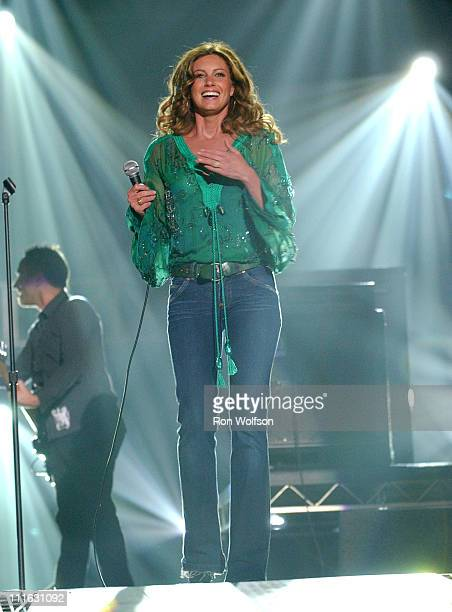 Faith Hill during 40th Annual Academy of Country Music Awards Show at Mandalay Bay Resort and Casino Events Center in Las Vegas Nevada United States
