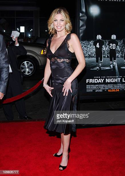 Faith Hill during 'Friday Night Lights' World Premiere at Grauman's Chinese Theatre in Hollywood California United States