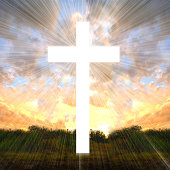 Faith symbol. Cross.
