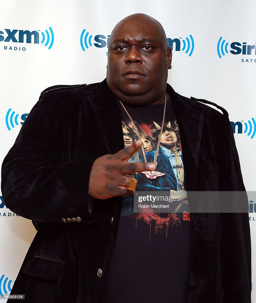 Faizon Love vists at SiriusXM Studios on March 1, 2013 in New York City.
