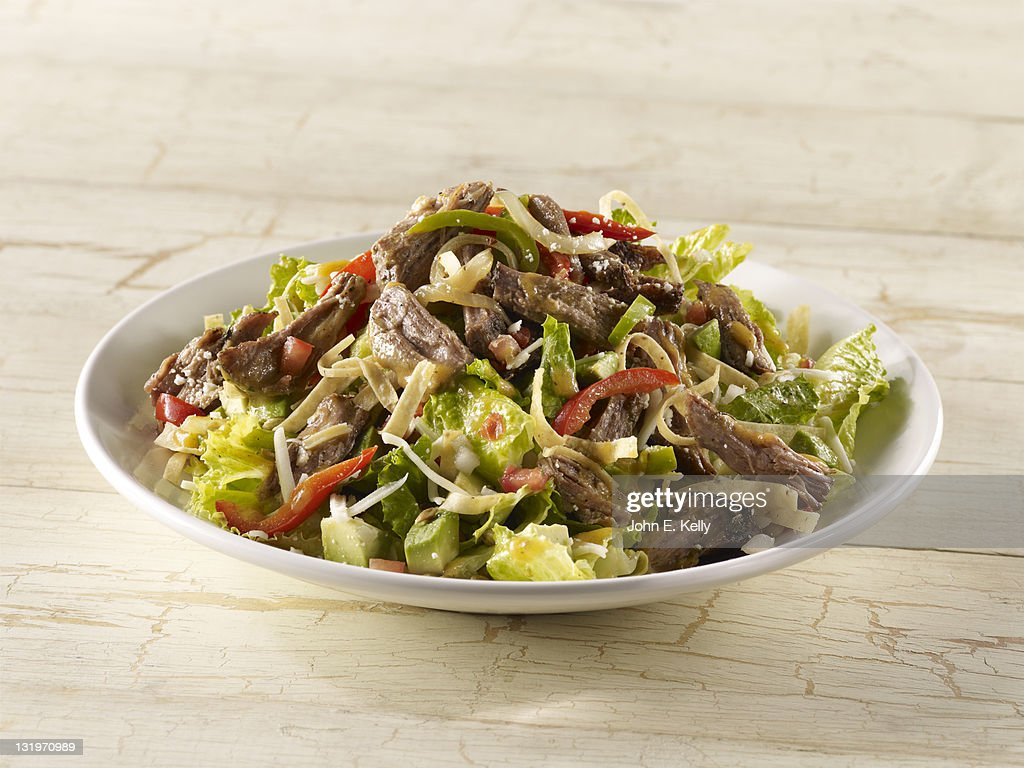 Fajita Carnitas Salad : Stock Photo