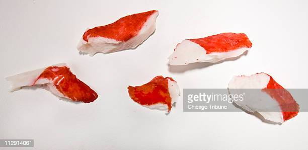 Fake crab called surimi is made from pollock and other fish