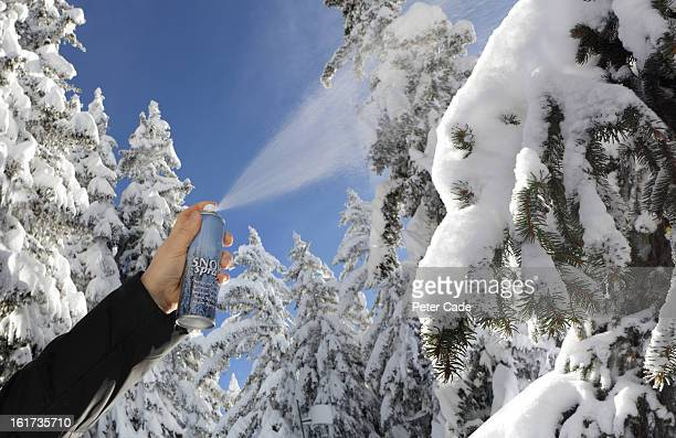 Fake snow stock photos and pictures getty images