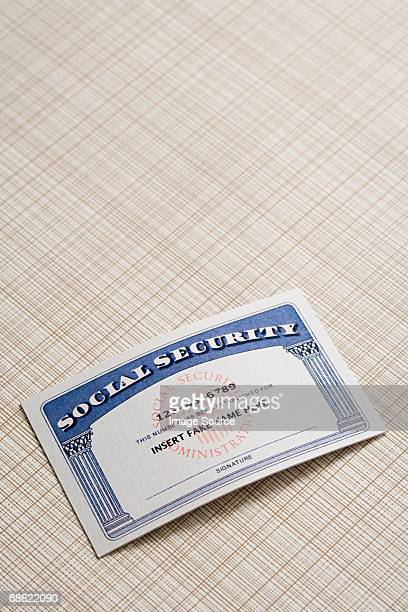Fake social security card