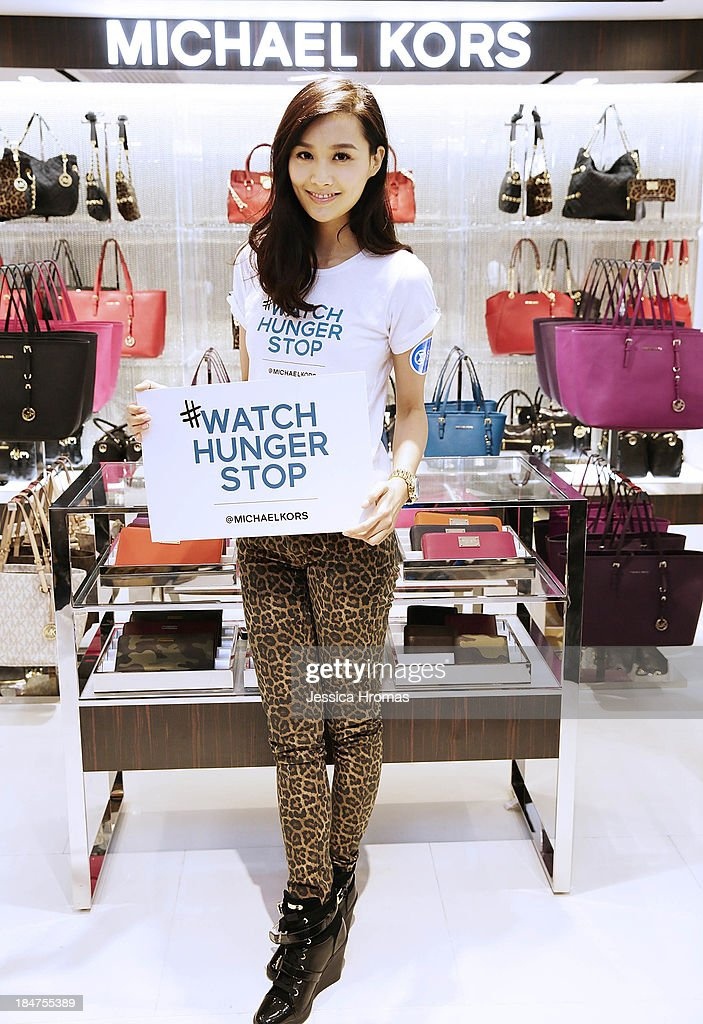 Fala Chen attends Michael Kors World Food Day - Hong Kong on October 16, 2013.