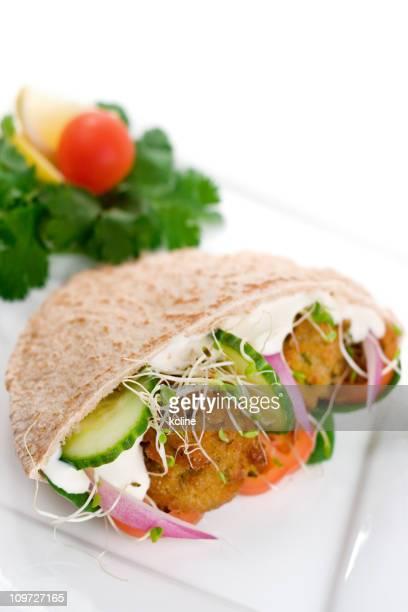 Falafel Pita-Sandwich