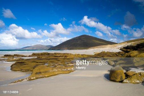 フォークランドビーチの風景