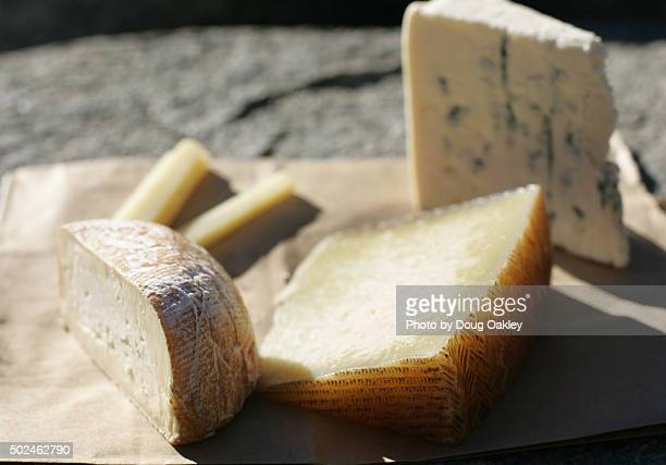 Fall cheese selection