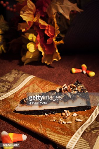 Bolo de Queijo de outono : Foto de stock