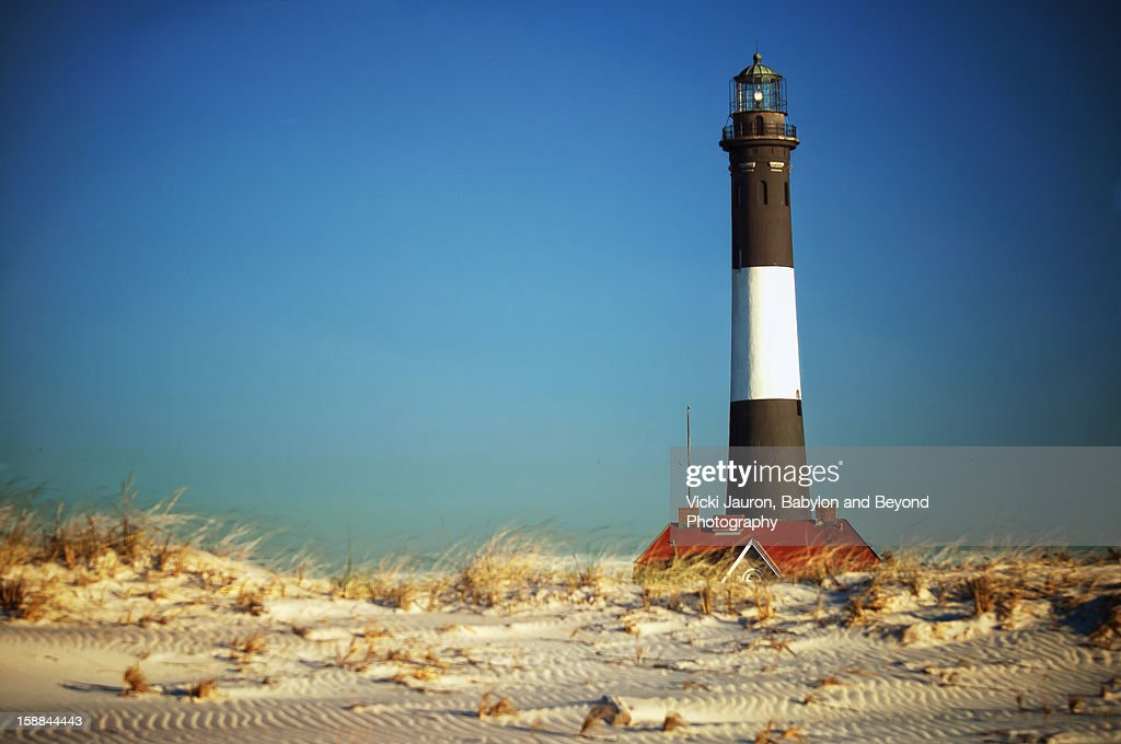 Fall Fairy Tale View of the Fire Island Lighthouse