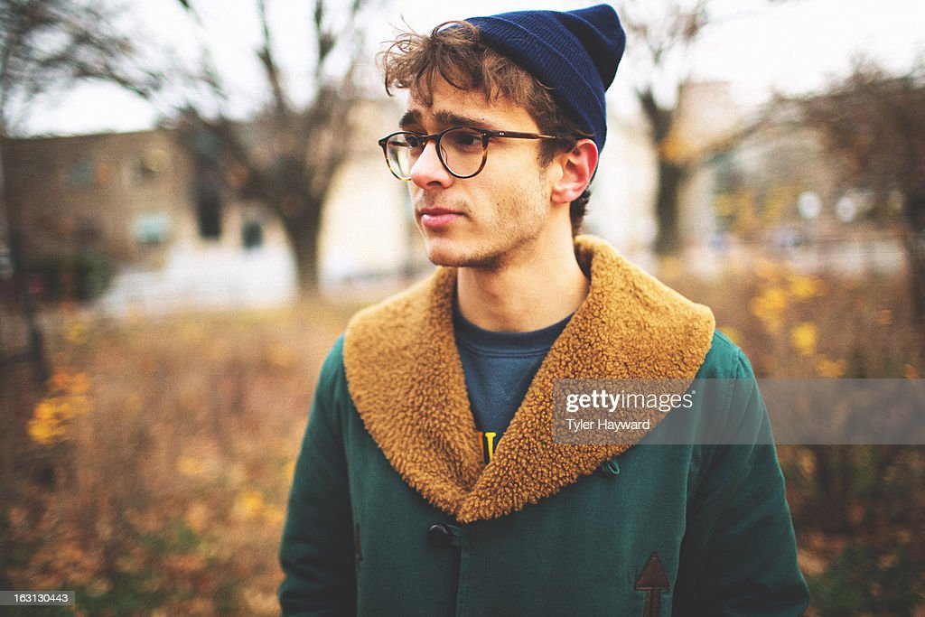 Fall Hipster : Stock Photo
