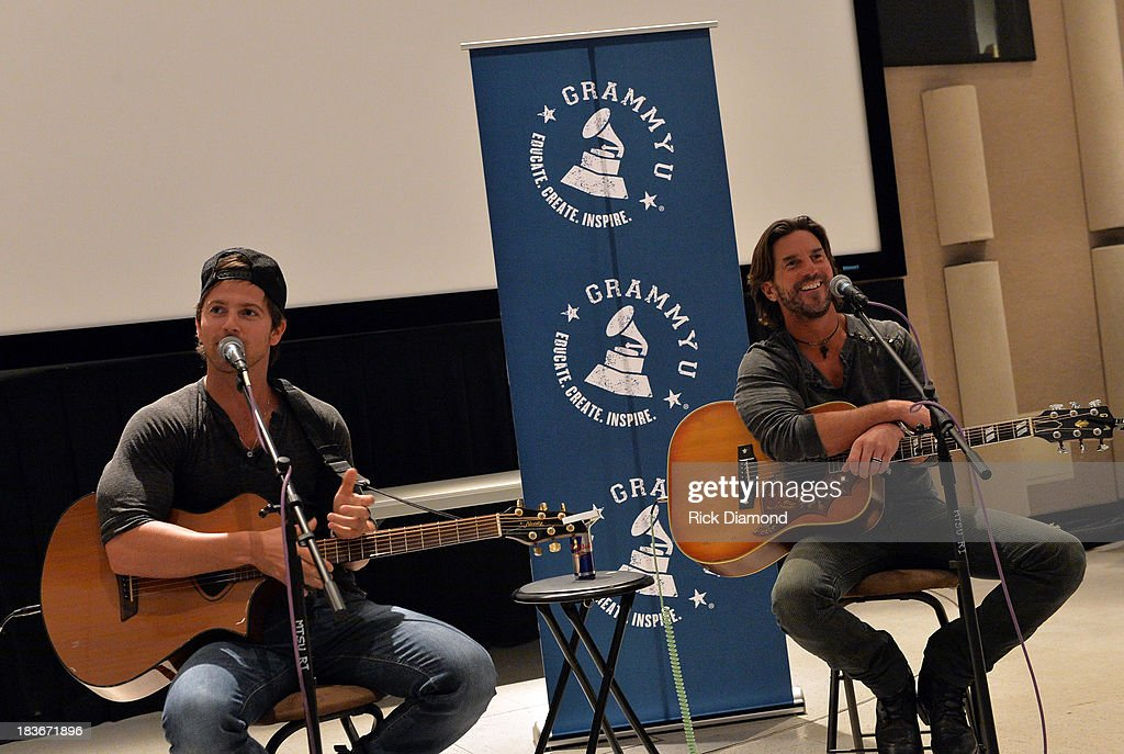 Fall Kick-Off with <a gi-track='captionPersonalityLinkClicked' href=/galleries/search?phrase=Kip+Moore&family=editorial&specificpeople=8375431 ng-click='$event.stopPropagation()'>Kip Moore</a> and Brett James at MTSU on October 8, 2013 in Murfreesboro, Tennessee.
