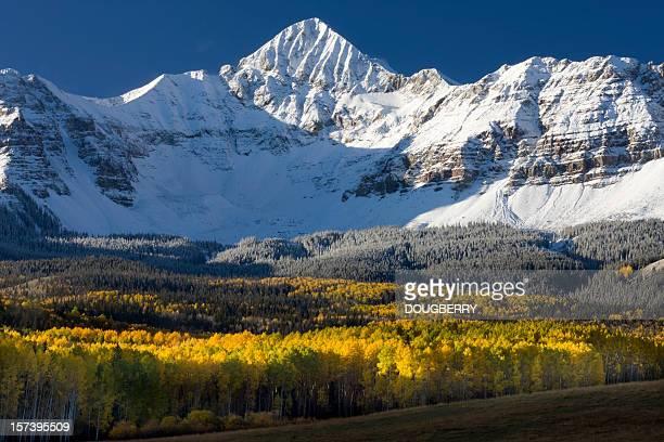 Automne montagnes, dans le colorado