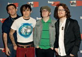 'Fall Out Boy' band members arrive at the VH1 Big In '05 Awards held at Stage 15 on the Sony lot on December 3 2005 in Culver City California