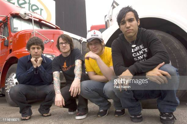 Fall Out Boy during Fall Out Boy July 23 2005 at Tweeter Center in Chicago United States