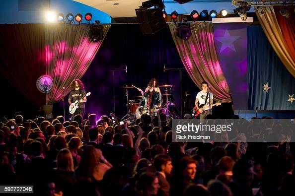 Fall Out Boy performs at the Youth Inaugural Ball at the Washington Hilton in Washington