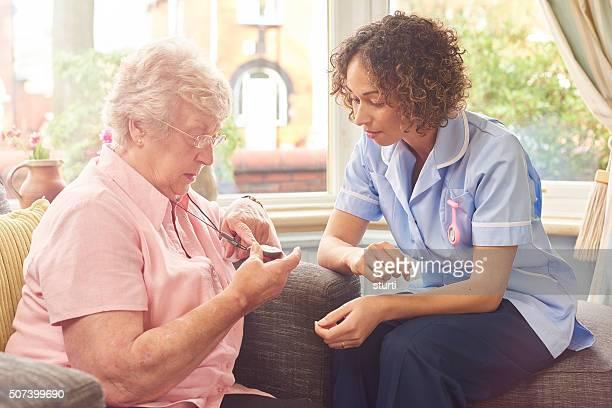 Automne capteur Pendentif pour femme Senior