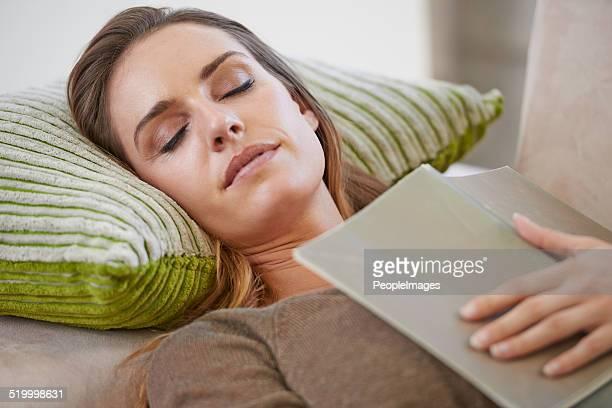 S'endormir doucement avec un bon livre