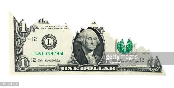 Falling Dollar Chart