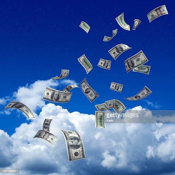 L'argent tombe du ciel